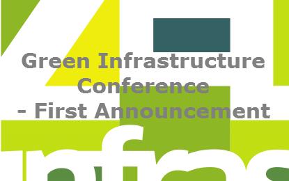 Odprte prijave na mednarodno konferenco Zelena infrastruktura