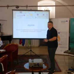 AlpSib: predstavitev dr. Damjan Kavaš