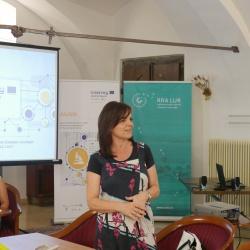 AlpSib dogodek: pozdrav direktorice RRA LUR mag. Lilijane Madjar