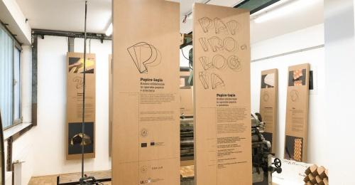 Razstava Papiro-logía gostovala na mednarodni konferenci o krožni embalaži