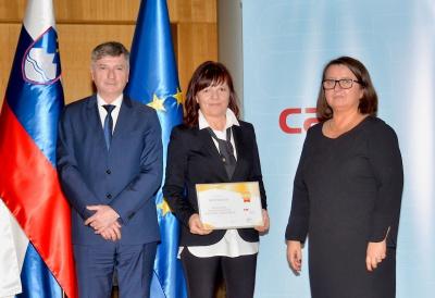 Nagrada Uporabnik modela kakovosti CAF RRA LUR