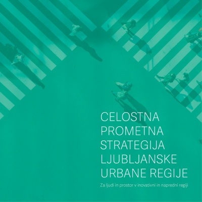 Celostan prometna strategija LUR naslovnica