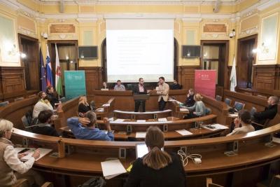 CRE-HUB Mestna hiša Ljubljana 3.10.2017, Photo Ales Rosa
