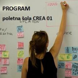 Program poletna šola CREA