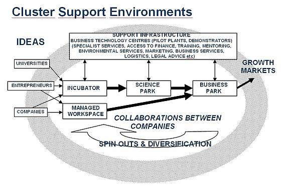 Cluster Support Environments Model