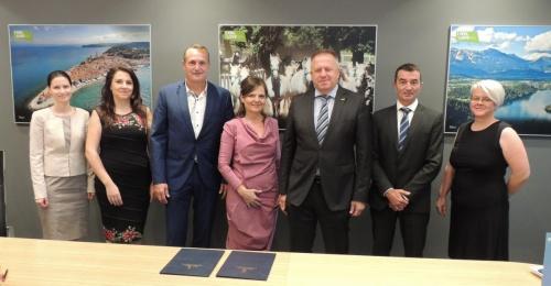 Podpisana dopolnitev dogovora za razvoj Ljubljanske urbane regije