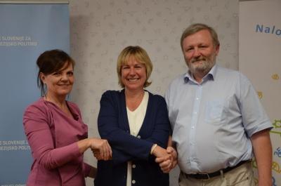 Podpis sporazuma - kohezijski regiji in SVRK