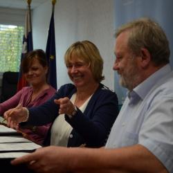 Podpis sporazuma - kohezijski regiji in SVRK 2