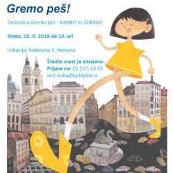 Gremo peš ETM2019 letak ČS-Šiška