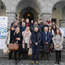 5. sestanek projektnih partnerjev Inter-Connect - skupinska fotografija