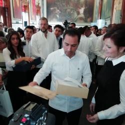 Obisk LUR v regiji Jukatan - podpis sporazuma o sodelovanju med regijam