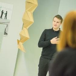 InnoRenewCoE Delavnica odprtega inoviranja s predstavitvijo inovativnih rešitev uporabe papirja v interjerju januar 2019 5