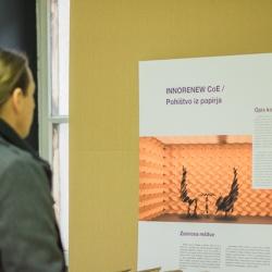 InnoRenewCoE Delavnica odprtega inoviranja s predstavitvijo inovativnih rešitev uporabe papirja v interjerju januar 2019 7