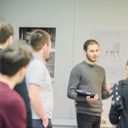 InnoRenewCoE Delavnica odprtega inoviranja s predstavitvijo inovativnih rešitev uporabe papirja v interjerju januar 2019 1
