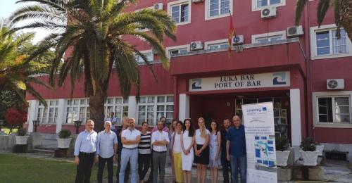 Četrti sestanek projekta Inter-Connect je gostilo pristanišče Bar