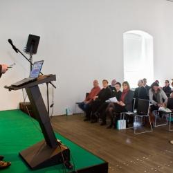 Konferenca Zelena infrastruktura: Jože Novak, predsednik DKAS (foto Luka Vidic)