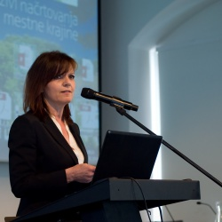 Konferenca Zelena infrastruktura: mag. Lilijana Madjar, direktorica RRA LUR (foto Luka Vidic)