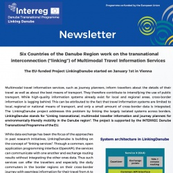 Newsletter Linking Danube - July 2017