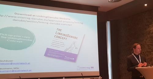 Projekt Linking Danube predstavljen na »The Danube Region Transport Days«