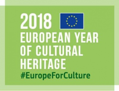 Logo European year of Cultural Heritage