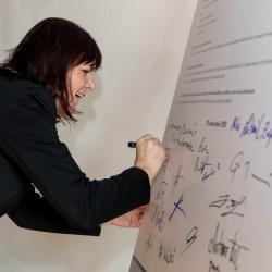 Podpis Listine raznolikosti - Lilijana Madjar, direktorica RRA LUR
