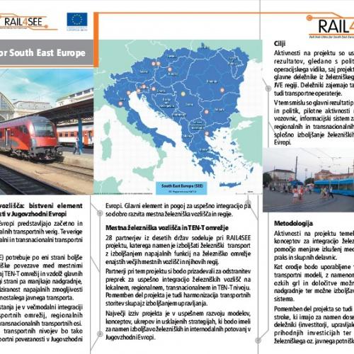 RAIL4SEE Mestna železniška vozlišča