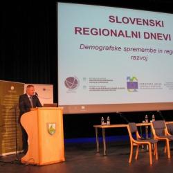 Slovenski regionalni dnevi 2019 - nagovor ministra Zdravka Počivalška - foto Janez Nared