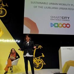Teden pametnih mest Barcelona 2019 - predstavitev CPS LUR