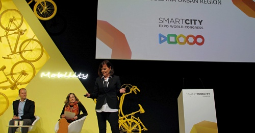 LUR Integrated Transport Strategy presented at Smart City Expo World Congress in Barcelona
