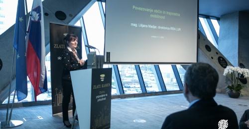 Konferenca Zlati kamen v luči trajnostne mobilnosti