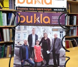 O Sobi za pisanje tudi v reviji Bukla