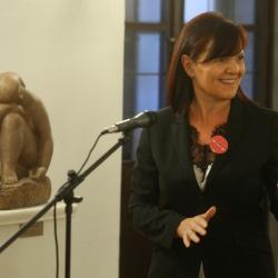Podpis sporazuma za kandidaturo Ljubljane za EPK 2025 - nagovor direktorice RRA LUR mag. Lilijane Madjar