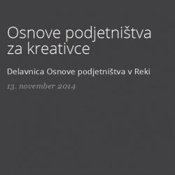 Osnove podjetništva za kreativce