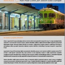 RAIL4SEE Mestna železniška središča JV Evrope: Ljubljana 2