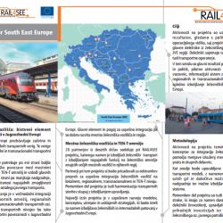 RAIL4SEE Mestna železniška središča – bistveni element transportne povezanosti JV Evrope