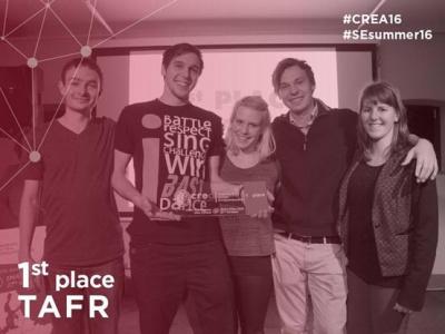 CREA 2016 zmagovalna ekipa TAFR