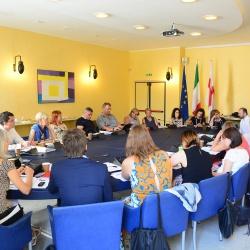Fabio Tenore, Mesto Genova, vodilni partner projekta