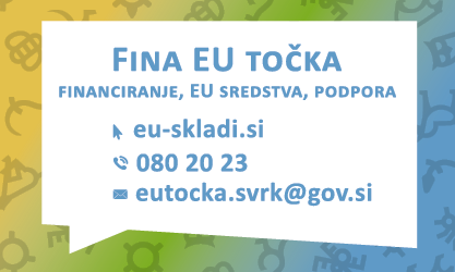 Fina EU točka - brezplačno svetovanje o financiranju, EU sredstvih in podpori