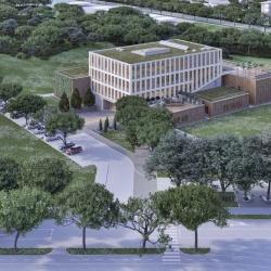 Vizualizacija novega raziskovalnega inštituta InnoRenew CoE. Foto: InnoRenew CoE