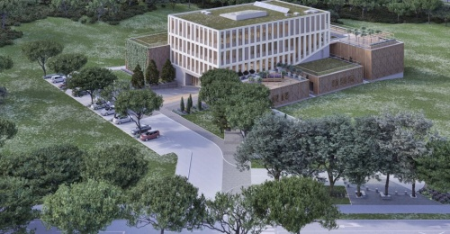 Start of construction of the largest wooden building in Slovenia