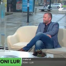 Predstavitev projekta PONI LUR na TV Ljubljana