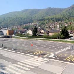 Slovesna otvoritev P+R pri železniški postaji Borovnica