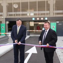Slovesna otvoritev nove Parkirne hiše P+R Grosuplje