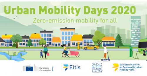 Dnevi urbane mobilnosti 2020: Soustvarjanje trajnostne mobilnosti na regionalni ravni