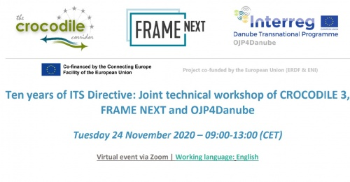 Invitation on OJP4Danube Kick-off  dissemination event I 24th of November 2020