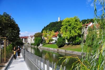 Ljubljanica. Foto D. Wedam