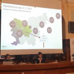 Na konstitutivni seji potrjena dosedanja predsednica in podpredsednik Razvojnega sveta za kohezijsko regijo Zahodna Slovenija za obdobje 2021–2027