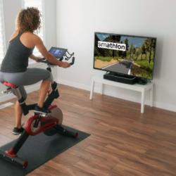 Simathlon: interaktivna kolesarska platforma